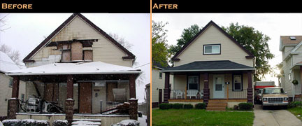 Residential reconstruction project